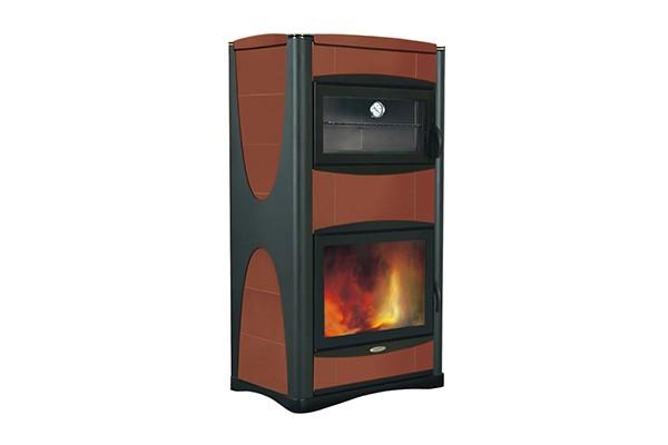Idropiu 34 idro con forno icofer celano ferramenta e - Termostufe a legna con forno ...
