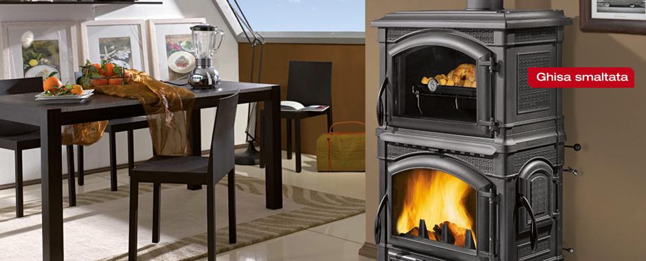 Isotta forno ghisa icofer celano ferramenta e materiali per l 39 edilizia - Stufe a legna per riscaldamento ...