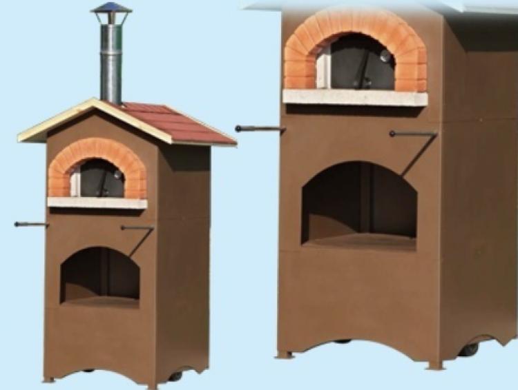 Plafoniere Per Forni A Legna : Forno a legna casetta cip vzf u cemento refrattario