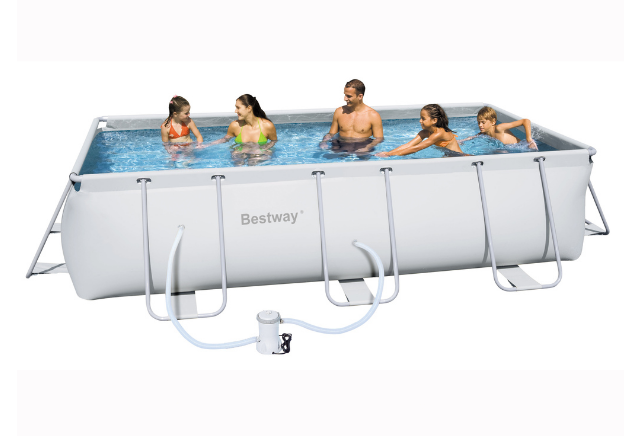 Piscina rettangolare 282x196xh84 icofer celano for Bestway piscine catalogo