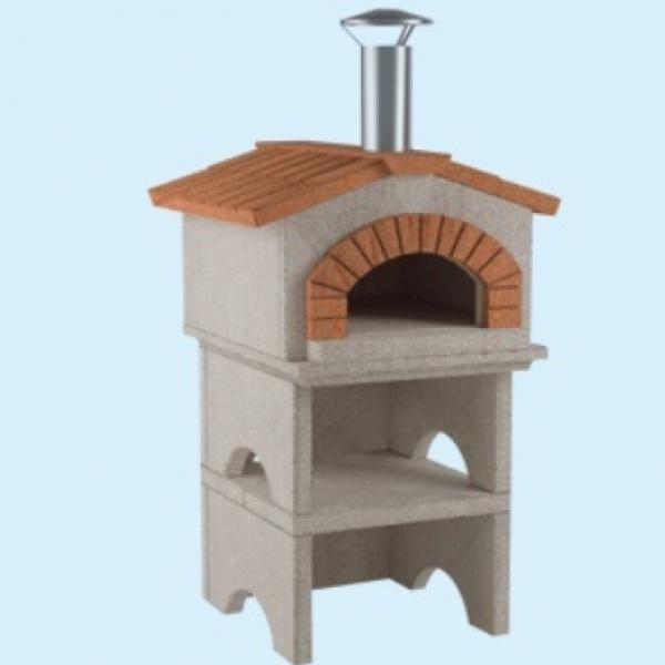 Forno a legna casa mia prefabbricato cemento refrattario - Forno a legna in casa ...